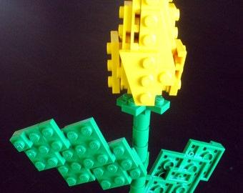 Custom Yellow Single Stem Rosebud