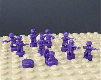 Nano Soldier Figures - Purple