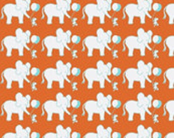 Let's Be Friends Elephant and Mouse Baby Crib Toddler Twin Full Double Queen Size Comforter MADE TO ORDER