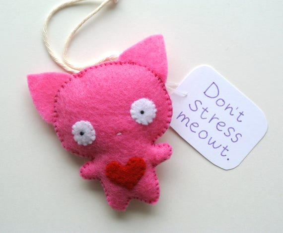 Funny Valentine S Day Gift For Cat Lovers Don T Stress Etsy