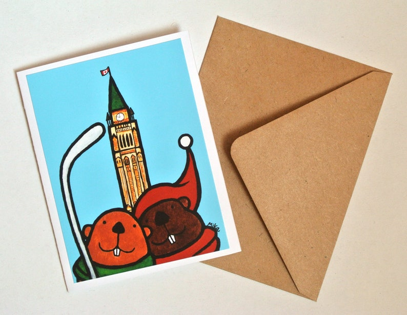 Canadian Card From Shop Handmade Unique