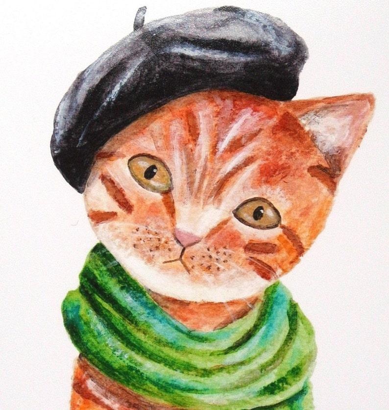Eine verrückte Katzendame datiert
