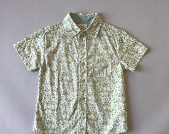SAMPLE SALE - Boys Emmett Shirt in Wildflower - Size 4