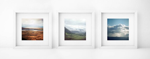 Landscape Triptych, Set of 3 Photography Prints