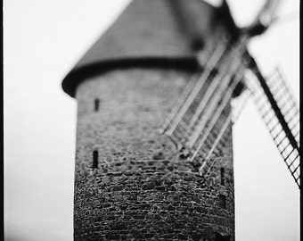 Skerries, Old Mill, Ireland, Photography Print, Limited Edition, Film, Analog, Square, Rural, Old Mill, Small or Large scale Art, Home decor