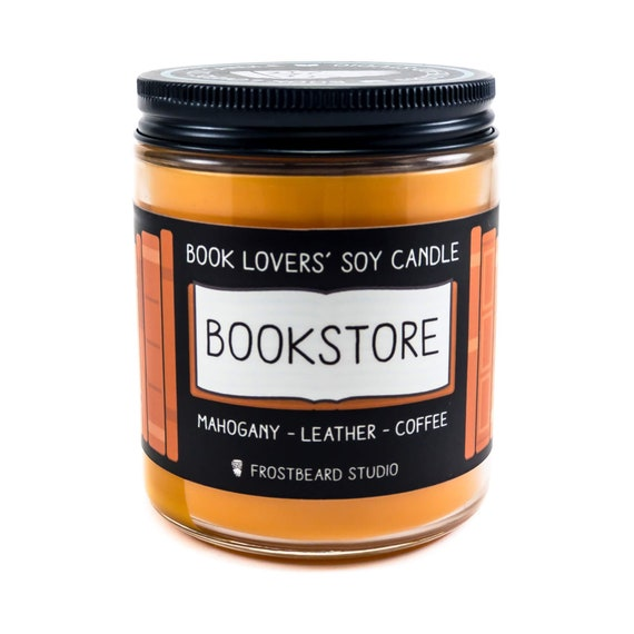 BookstoreBook Lover CandleBook Candle ScentBook Inspired