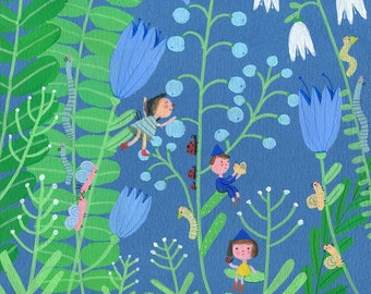 Big garden   print