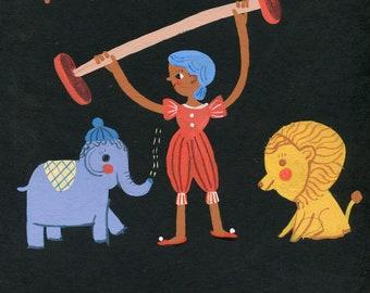 Circus original illustration