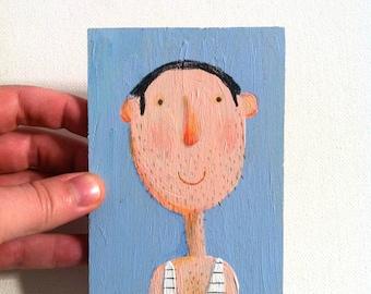 TIM  tiny original portrait