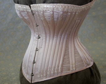Bespoke Victorian antique style corsets.  Custom made.  Includes prototype fitting.