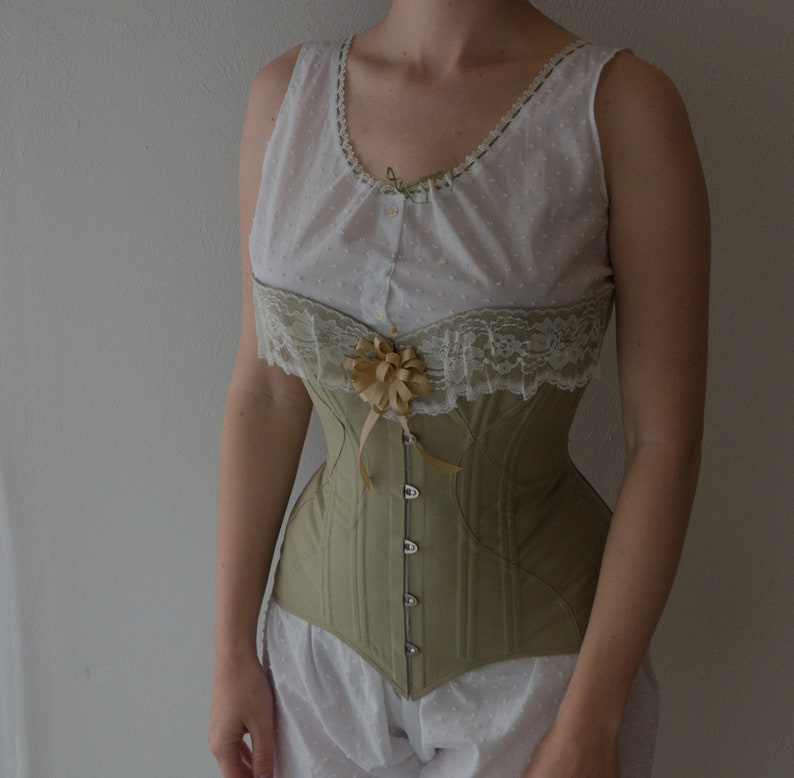 Vintage Lingerie | New Underwear, Bras, Slips fixed-size M/L 1905 S-bend corset made to order. Color is customizable. $300.00 AT vintagedancer.com