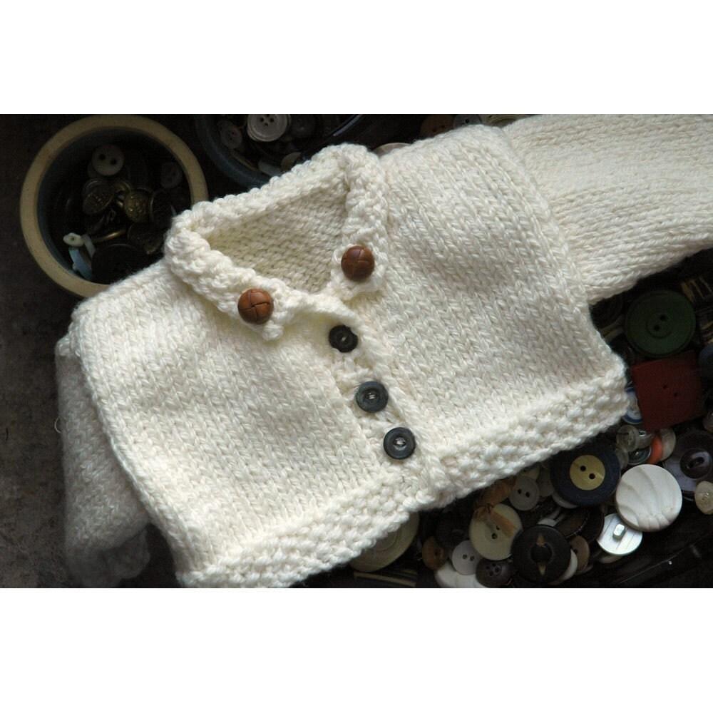 Merrill Hand Knit Teddy Bear Sweater Pattern Online