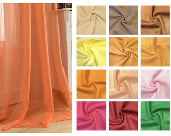 Custom AD Couture Sheer Curtains - Colors
