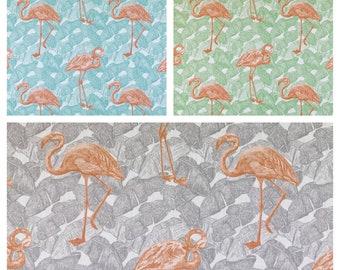 Custom Designer Thomas Paul Tropicalia Flamingo Drapes You pick the fabric and style - Lined