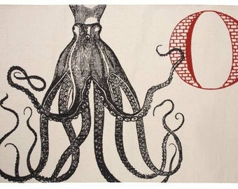 Octopus Bath Mat Thomas Paul