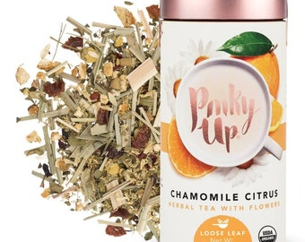 Organic Fresh Citrus Chamomile Tea