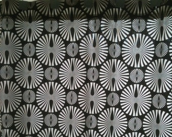 Clearance Black and White Retro Shower Curtain - Hurry 2 left