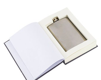Survival Book Sneaky Flask