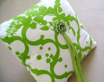 Viceroy Ring Bearer Pillow