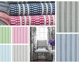 Thibaut Anna French Reed Stripe Fabric By The Yard (other colors available)