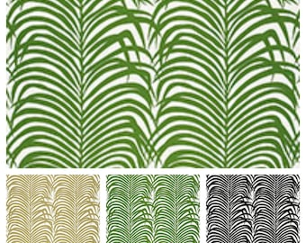 F. Schumacher Zebra Palm (other colors available)
