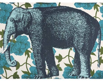 Thomas Paul Elephant Floral Bath Mat