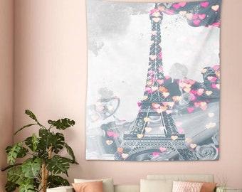 Love in Paris Tapestry