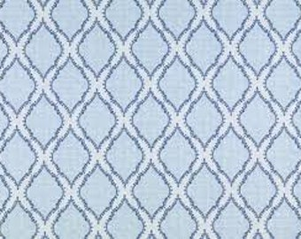 John Robshaw Azma Blue DE42510-5  Fabric by the yard