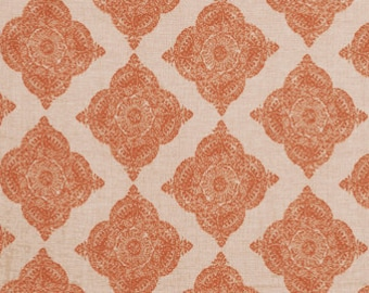 John Robshaw Mani Terracotta 21038-107 Fabric by the yard