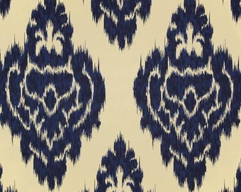 Duralee Kalah Blue Fabric by the yard