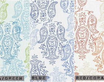 Custom John Robshaw Yadi Drapes You pick the fabric and style - Lined