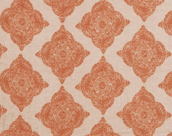 Suburban Home Mani Terracotta Fabric by the yard