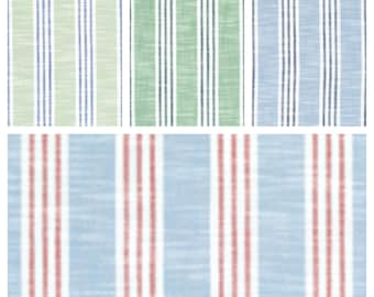 Designer Thibaut Southport Stripe Fabric by the yard (other colors available)