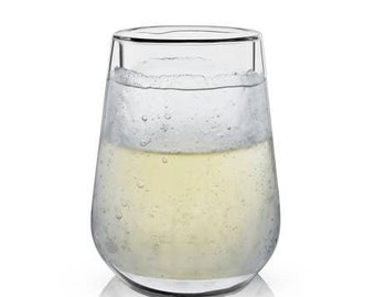Ice Walled Wine Glass