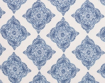 John Robshaw Mani Indigo 21038-93 Fabric by the yard
