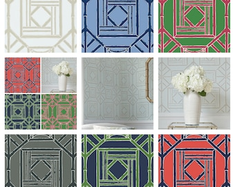 Thibaut Shoji Panel Wallpaper By The Package (Double roll)  (other colors available)