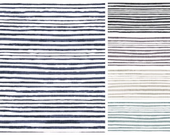 Scott Living Horizon Luxe Linen Stripe Fabric by the Yard