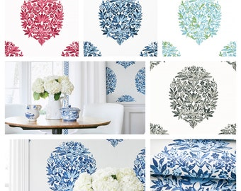 Thibaut Ridgefield Wallpaper (Packaged in double rolls)  (other colors available)