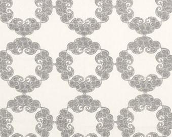 Kinva Grey 21036-15 Fabric by the yard
