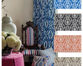 Tobi Fairley Kathryn Custom Drapes You pick the fabric and style - Lined