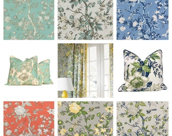 Designer Thibaut Nemour Fabric by the yard (other colors available)