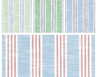 Custom Designer Thibaut Southport Stripe Drapes You pick the fabric and style - Lined