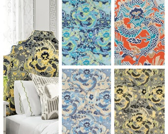Designer Thibaut Imperial Dragon Fabric by the yard (other colors available)