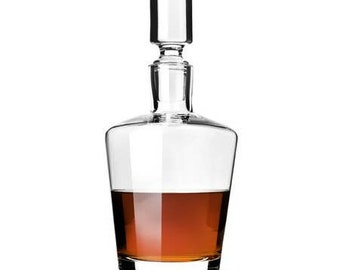 Bourbonville Crystal Decanter