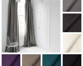 Casual Washed 100% Soft Linen Drape