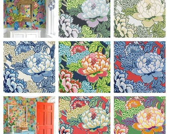 Thibaut Honshu Wallpaper (Packaged in Double rolls) (other colors available)
