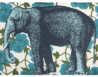 Thomas Paul Elephant Floral Bath Mat