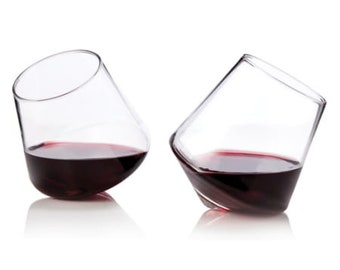 Oxygenating Rolling Wine Glasses