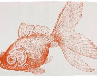 Goldfish Bath Mat Thomas Paul