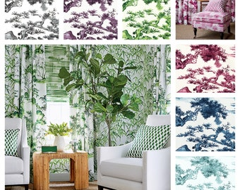 Designer Thibaut Kyoto Fabric by the yard (other colors available)
